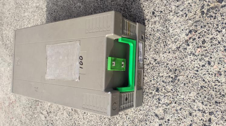 Коробка пластмассовая кейс  ящик на замочке