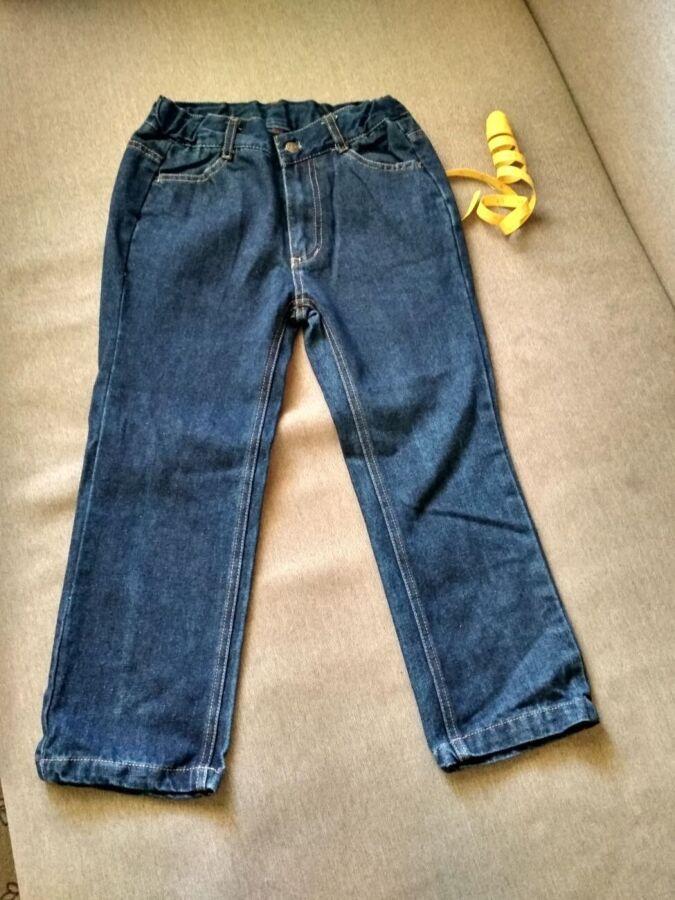 Детские классические прямые джинсы Swiss Cross, США, мальчику 5 6 7