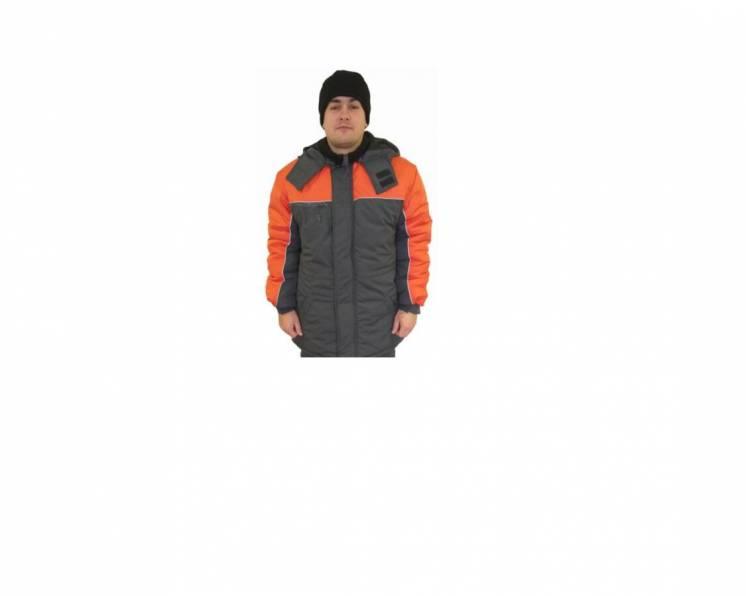 Утепленная рабочая куртка