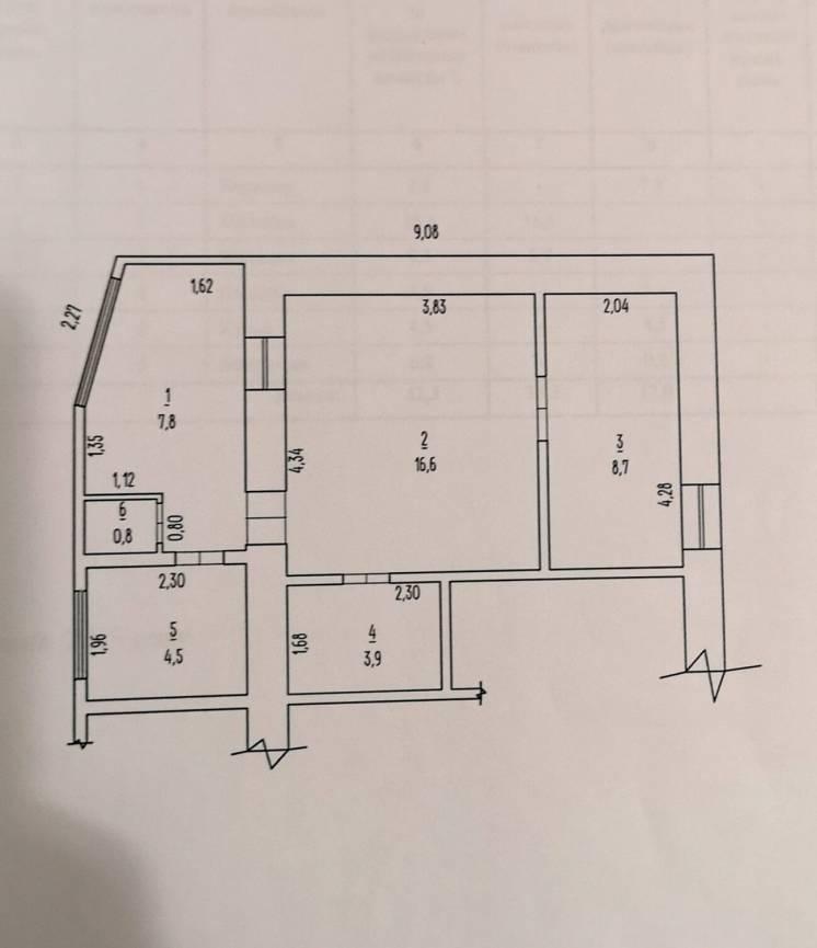 Продам 2 к квартиру жилкоп БСМП Центр