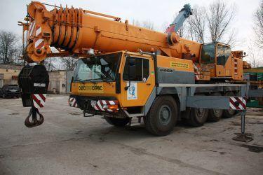 Аренда Автокрана 100 тонн LIEBHERR LTM 1100-2