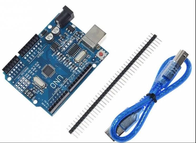 Arduino UNO R3 на ATmega328P (CH340G) + USB Кабель