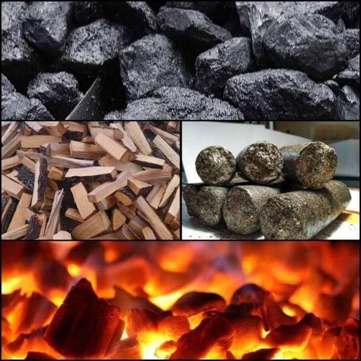 Уголь, брикет, дрова