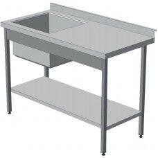 Стол-мойка (стол с ванной)