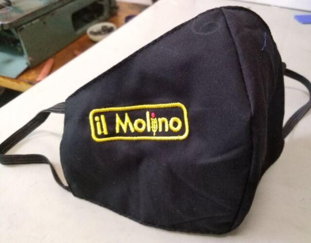 маска защитная из ткани с логотипом