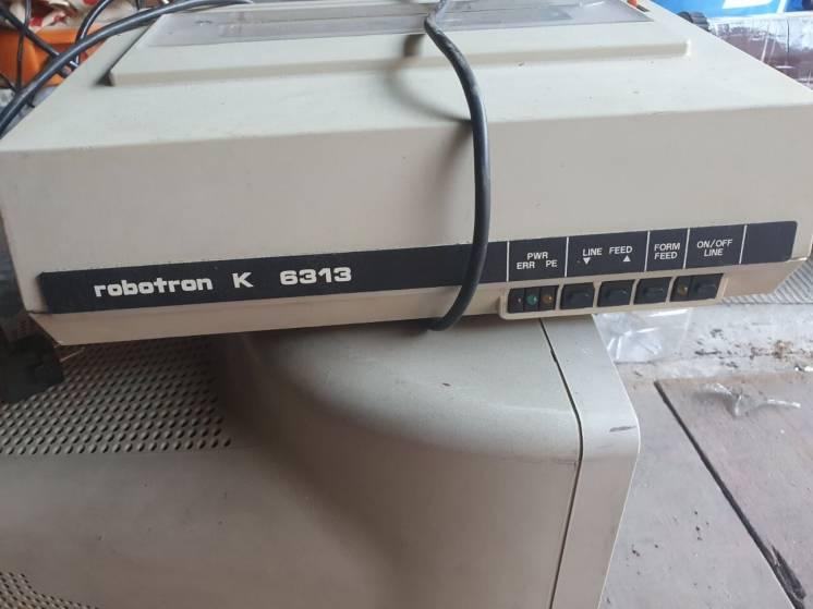 Принтер Robotron 6313 Германия б/у