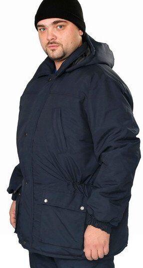 Удлиненная рабочая куртка, очень теплая, с капюшоном