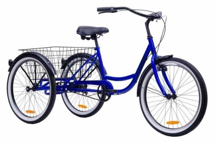 """Велосипед трёхколесный Aist Cargo 2.0 24""""дюймов"""