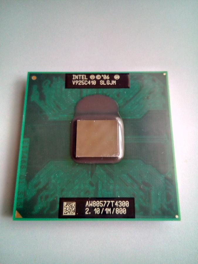 Процессор для ноутбука Intel Pentium Dual-Core T4300 2.1 Ghz