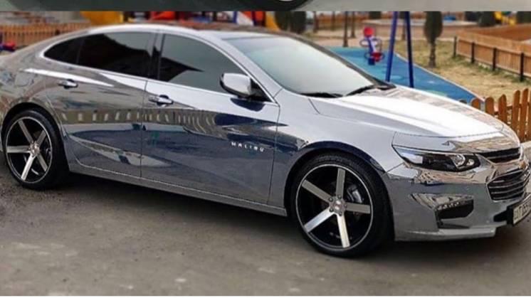 Chevrolet Malibu 2017- Лобовое стекло