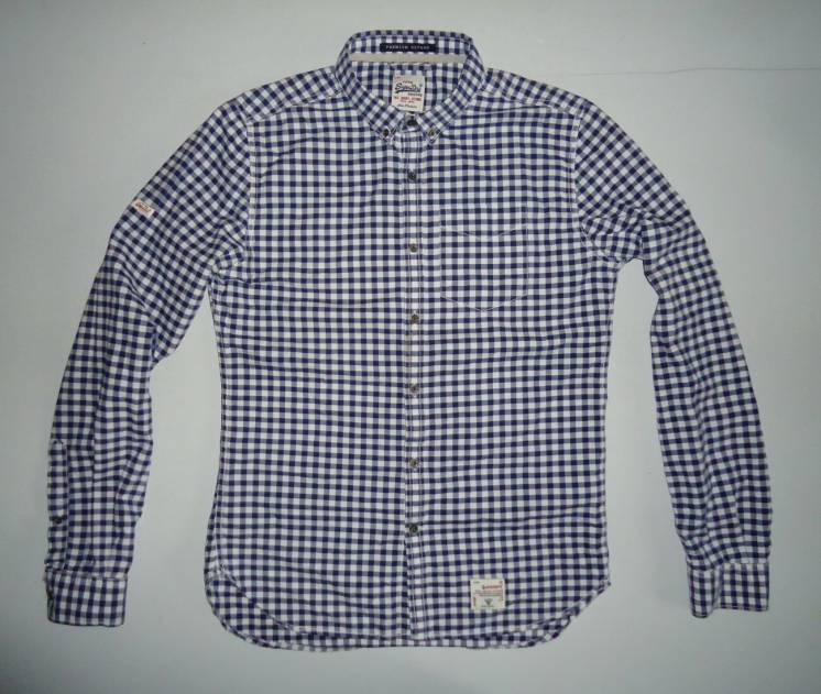 рубашка  Superdry Vintage Oxford Japan (M)