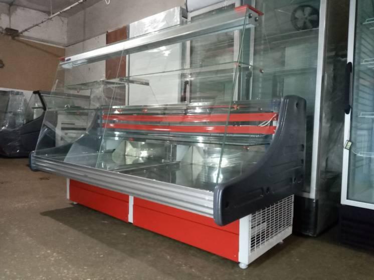 Кондитерская холодильная витрина Технохолод 2 м. б у.