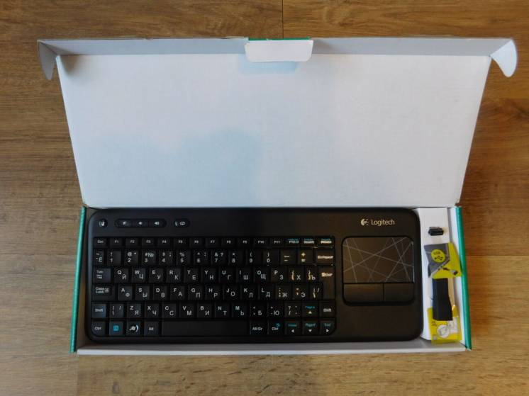 Клавиатура Logitech Wireless K400