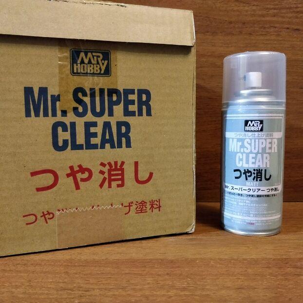 Mr. Super Clear Matt (Flat) 170 ml - Клир Матовый для кукол ООАК