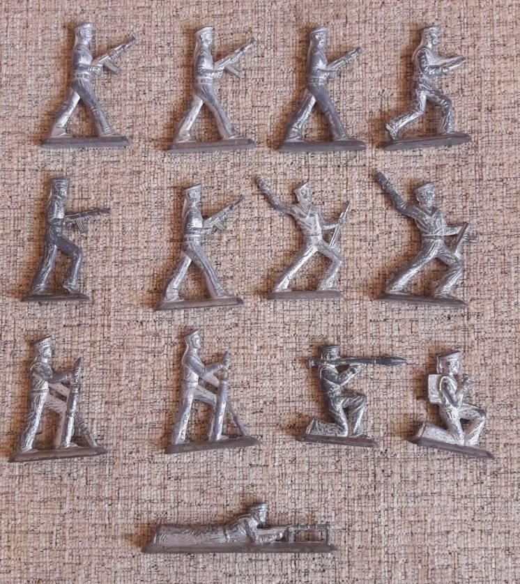 Солдатики оловянные (моряки) СССР