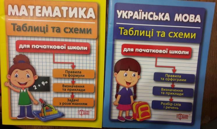 Математика, Українська мова для початкової школи