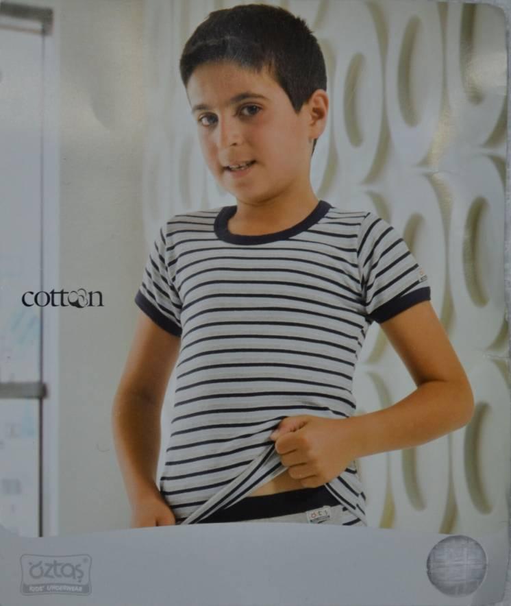 Футболка для мальчика в полоску (р.146-152 см) (OZTAS, Турция)