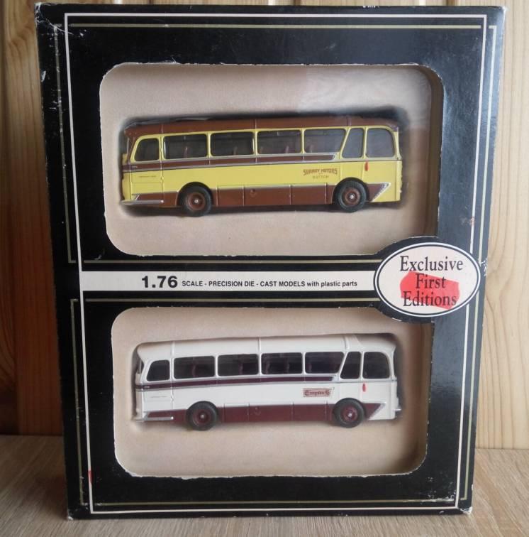 Модель автобус Harrington Cavalier & Grenadier, масштаб 1:76, EFE
