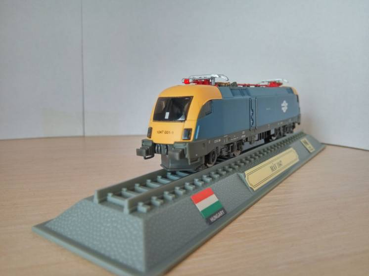 Модель локомотив Del Prado (Испания) MAV 1047 Масштаб 1:160 в блистере