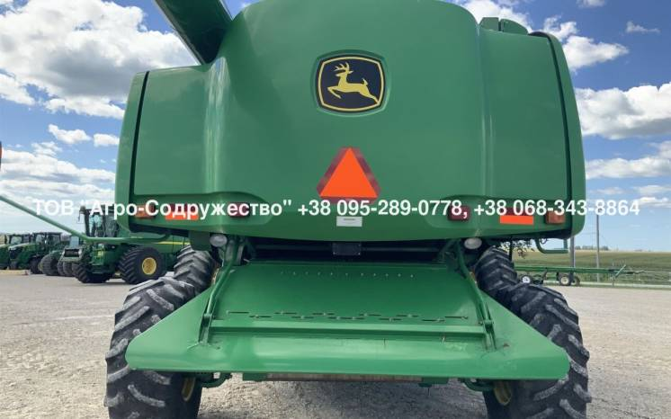Из США - б/у Комбайн Зерновой John Deere 9670 STS Bullet Rotor