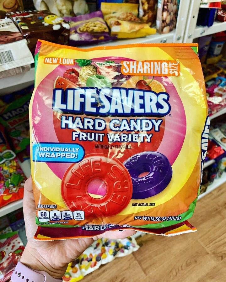 Освежающие конфеты с фруктовыми вкусами