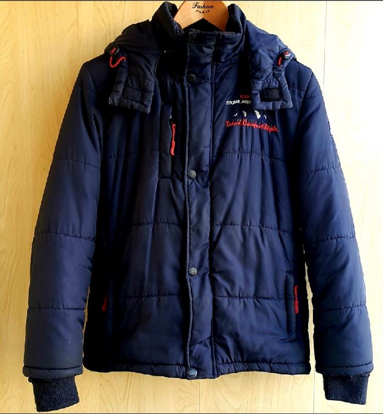 Б/У теплая курточка на флисе на мальчика 12-13 лет рост 152-158 см.