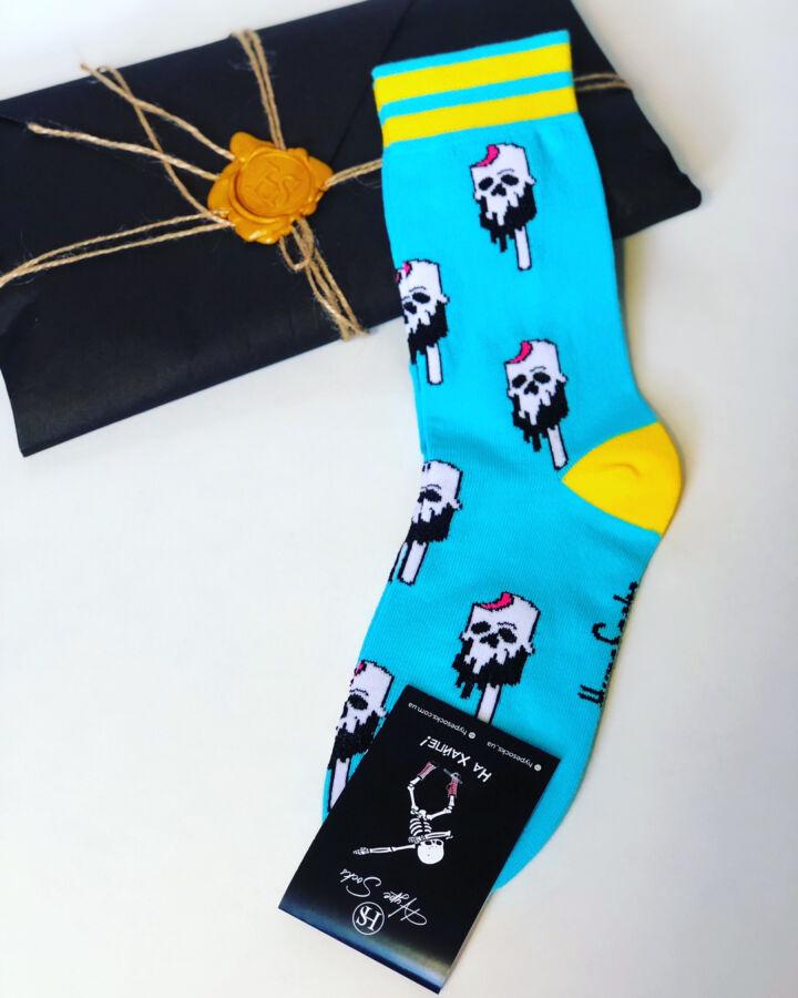 Яркие крутые носки от Hypesocks