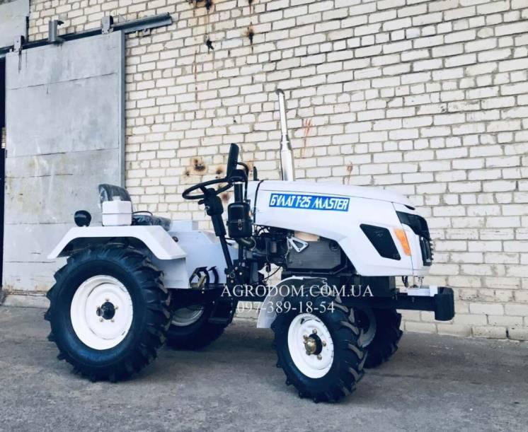 Трактор Булат Т 25 МАСТЕР ,+КОМПЛЕКТ.Мототрактор міні трактор,Доставка