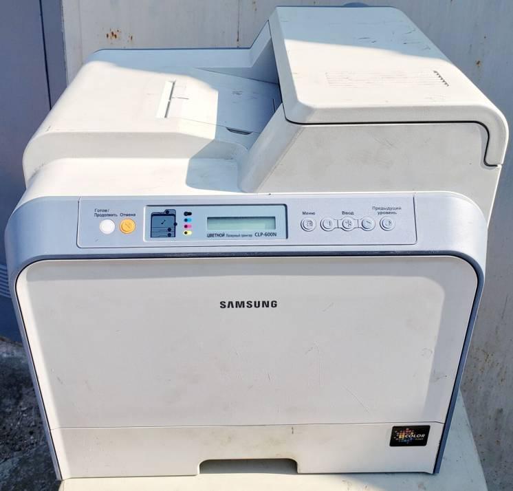 Принтер Samsung CLP-600N
