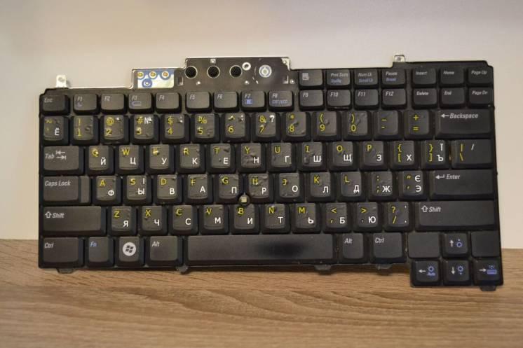 Клавиатура ноутбука DELL LATITUDE D620 (0UP826)