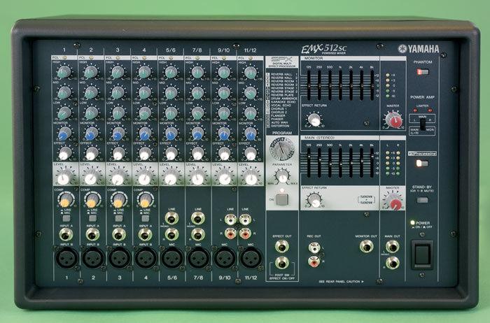 Микшер Yamaha EMX512SC/ Dynacord/ Roland