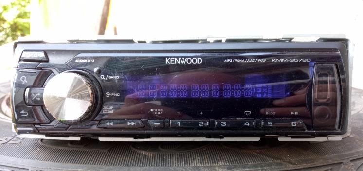 Магнитола Kenwood KMM-357SD