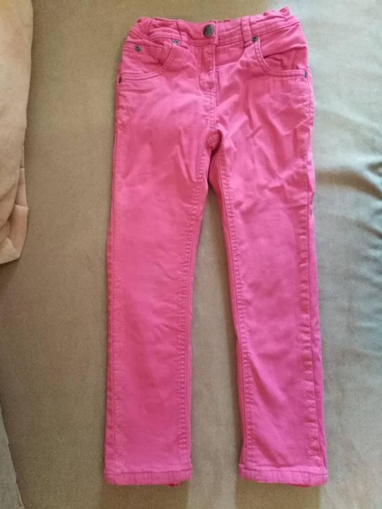Утеплённые штаны джинсы Palomino на девочку, р. 122