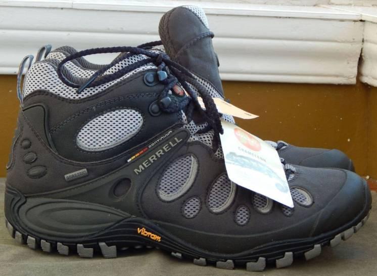 ботинки Merrell Chameleon Evo Mid, Gore-Tex XCR, стелька 27,2см