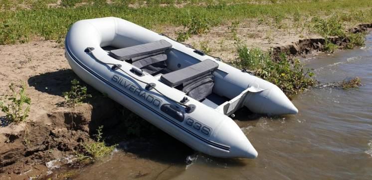 Продам Моторную Лодку ПВХ Silverado 33 S В Отличном Состоянии
