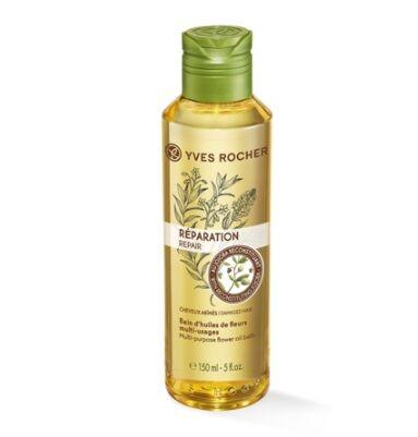 Шелк для волос Восстанавливающее Масло для Волос Ив Роше Yves Rocher