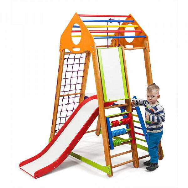 Детский спортивно-развивающий игровой комплекс «BambinoWood Plus 2»