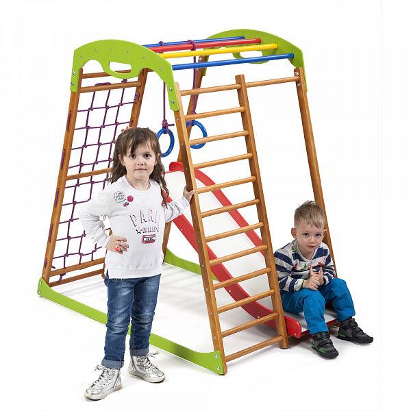 Спортивно-развивающий детский комплекс «BabyWood Plus 1» для дома