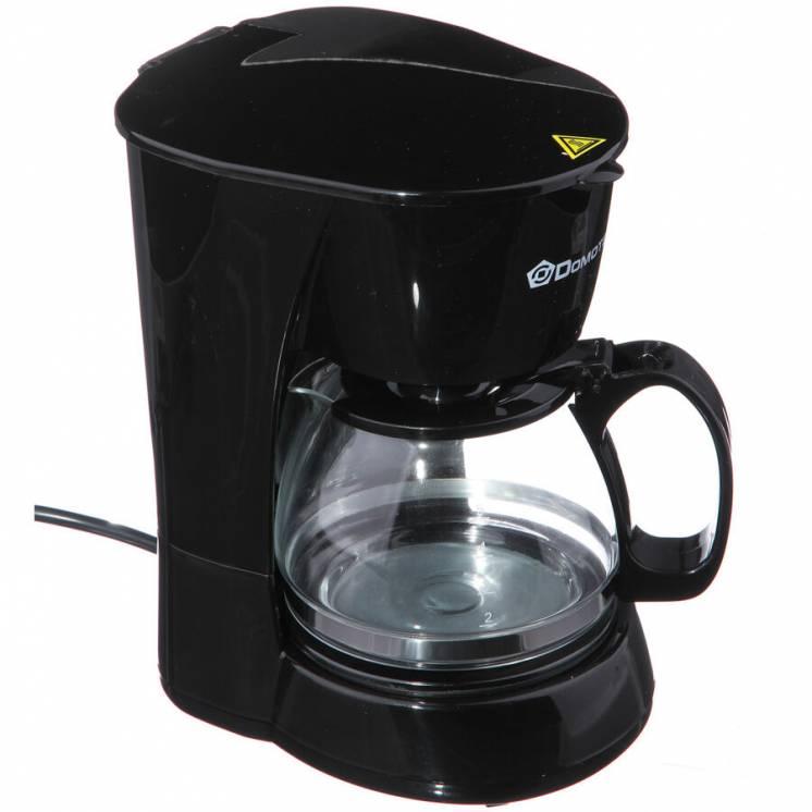 Капельная кофеварка Domotec (многоразовой фильтр) есть гарантия!!!
