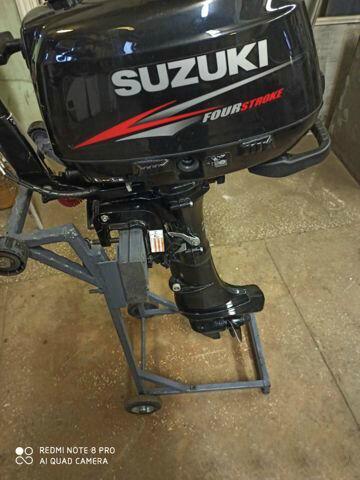 Продам лодочный мотор Suzuki df6s в хорошем состоянии