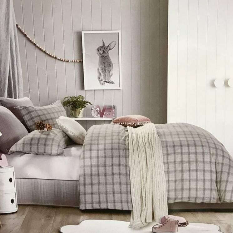 Постельное белье Французский лен Prestij Textile 200×220