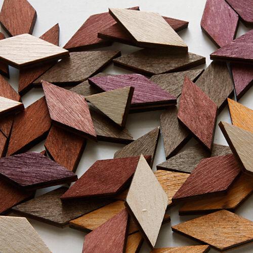 Деревянная мозаика для творчества (элементы в наборе)