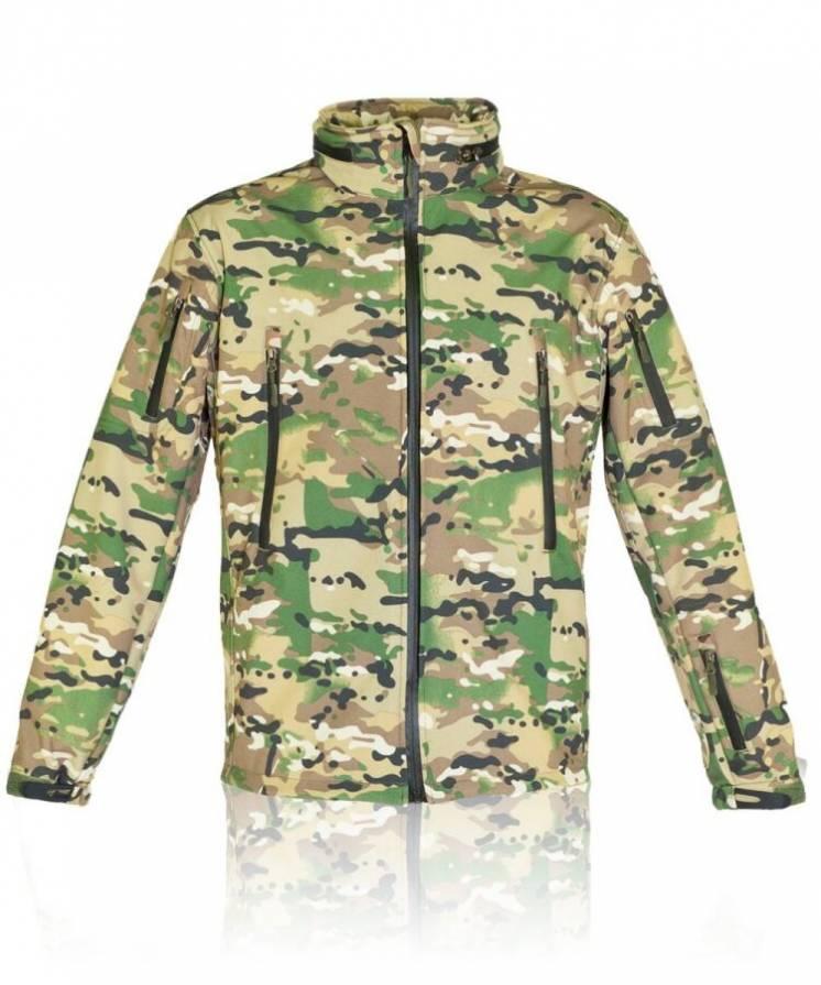 Тактическая куртка мультикам