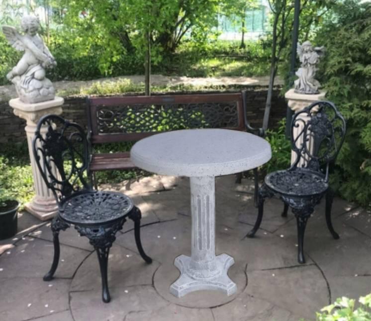 Стол Садовый Размер d750*h780nmm Вес 58 кг