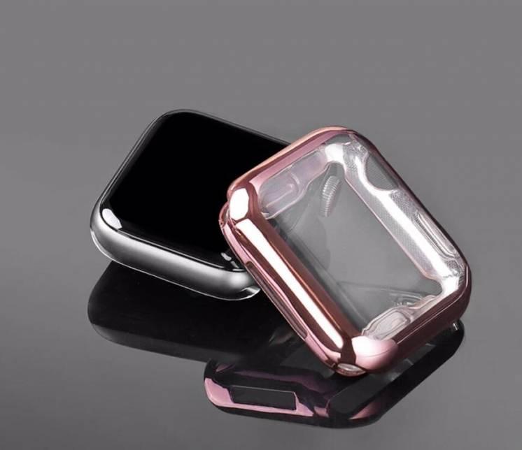 Силиконовый чехол на Apple Watch series 1,2,3,4,5,6/38,40,42,44mm