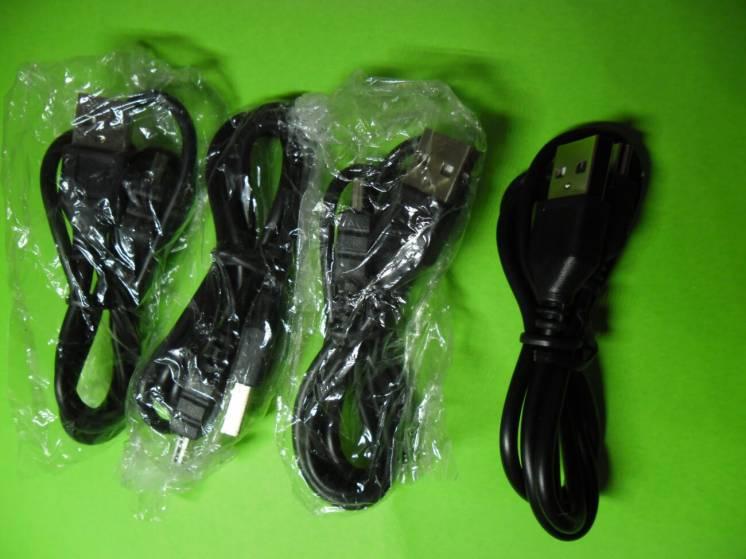 Шнур USB-mini USB (Новый)