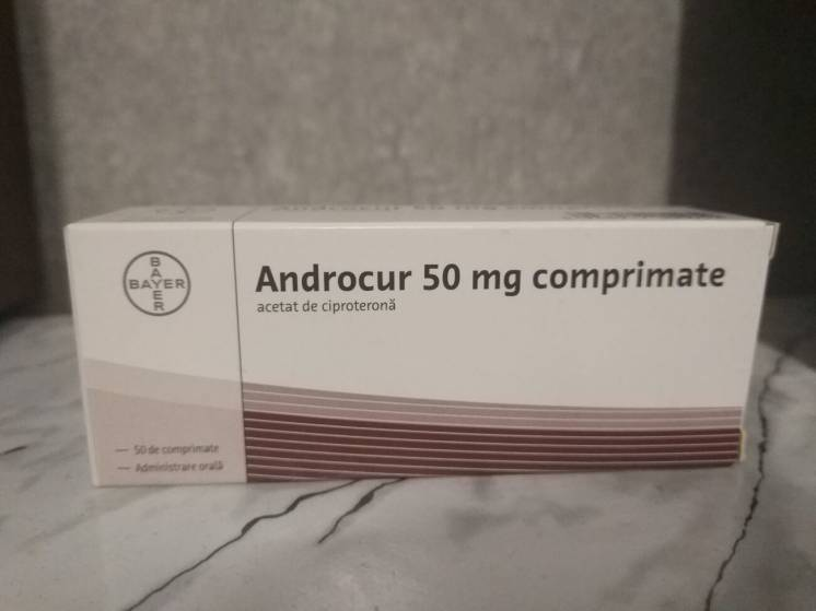 Androcur 50 mg (30 таблеток + 8 в подарок)