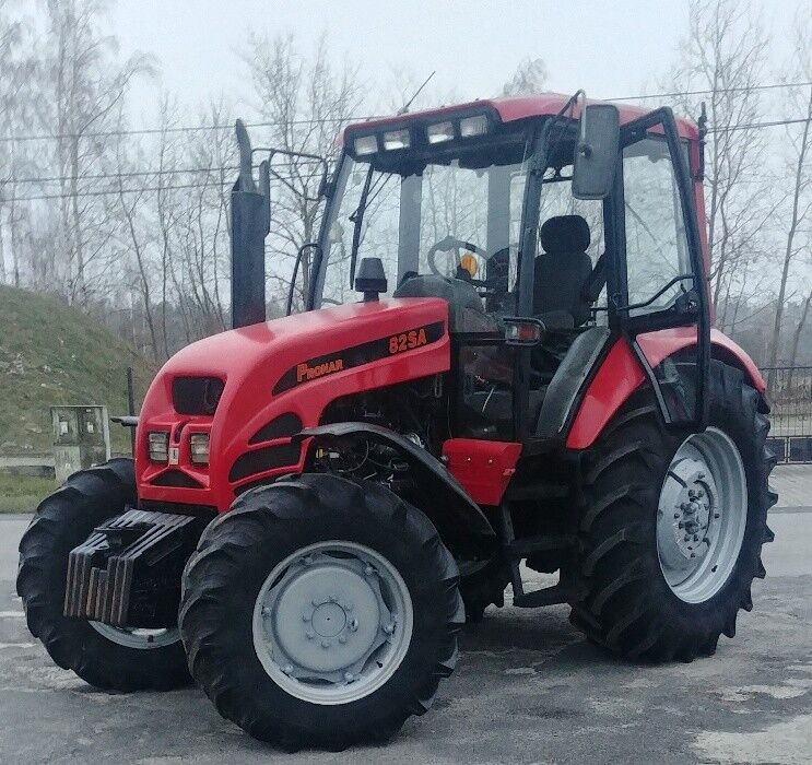 Экспортный б/у трактор 2007 года выпуска Беларус Мтз Pronar 82 SA