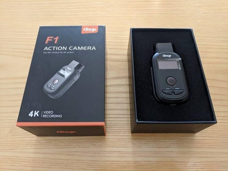 Экшн камера GitUp F1 Action Camera (Ambarella A12S75) (Сбойная!)