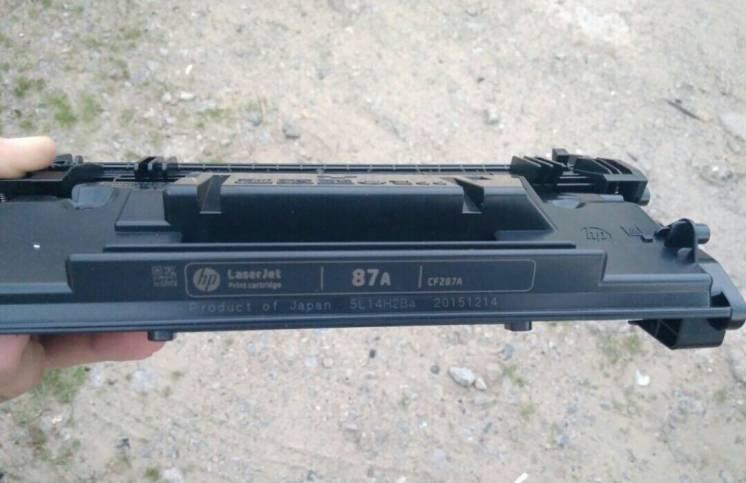 Картридж новый оригинальный HP 87A (CF287А)